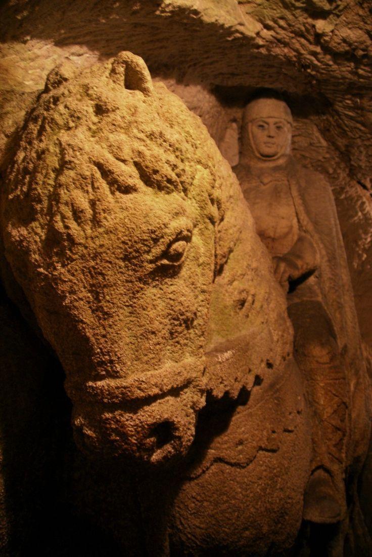 svatý Václav, jeskyně Rudka u Kunštátu, Czechia