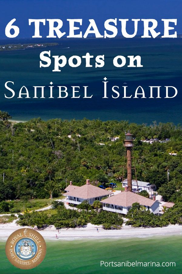 Port Sanibel Treasure Spots