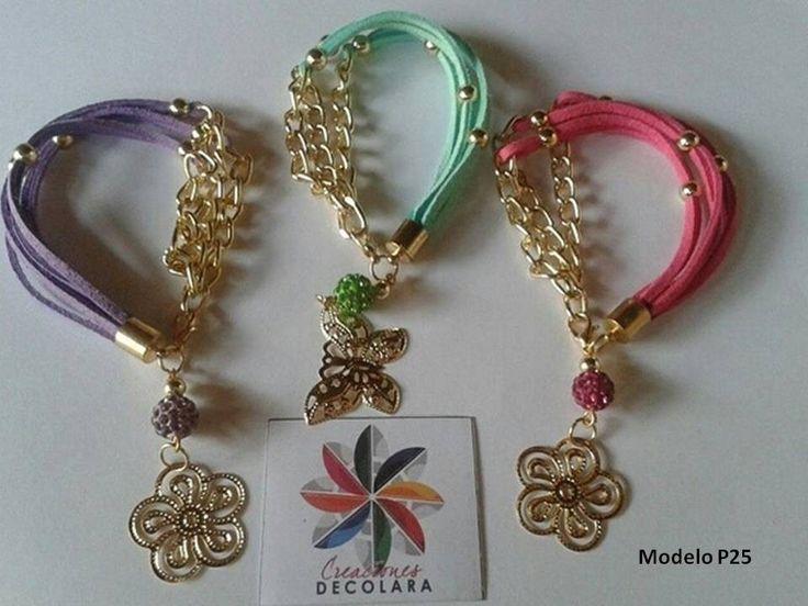 Pulseras de moda economicas bola de fuego cadena cuero bs 145 00 en bracelet - Como hacer bisuteria en casa para vender ...
