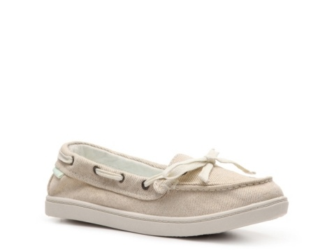Roxy Topsail Boat Shoe. Favorite! Bought in tan a couple yrs ago and just bought another pair in Moss for this coming spring! (only $19 at Famous Footware right now!)