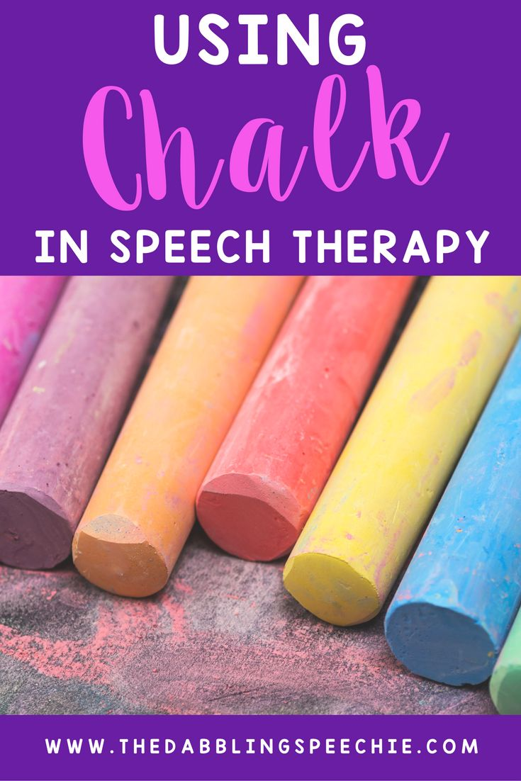 Easy ways to target speech goals using chalk! Fun, low cost and a great way to get out of the speech room.