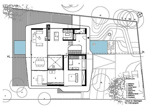 Good casa g search planimetra pinterest arch concept and for Planimetrie della casa minimalista