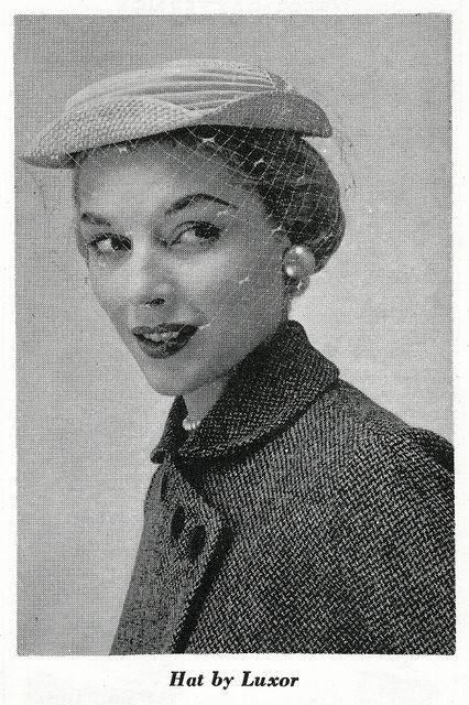 Hat by Luxor 1954