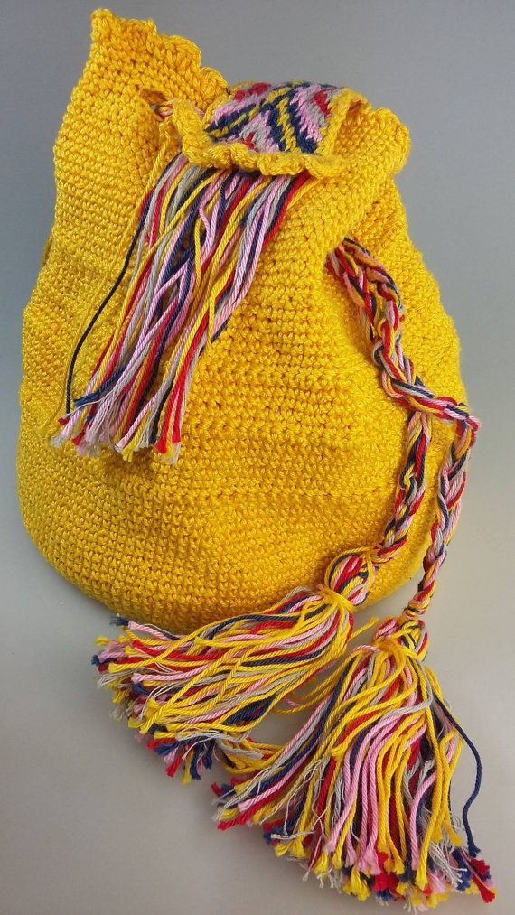 Ready to ship LemonDrop handmade crochet by GreenLightHandmade