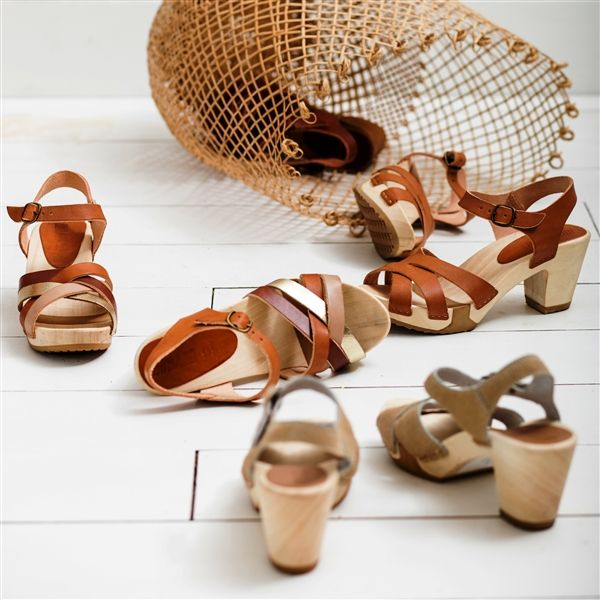 BOSABO summer sandals with flexi wood soles, handmade in France - BOSABO - France - Product Showroom 2017