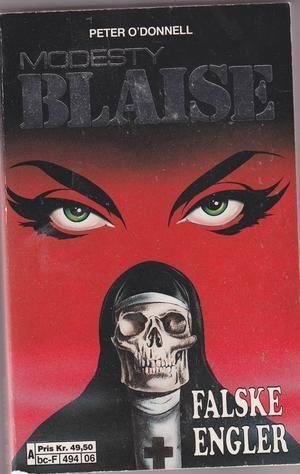 """""""Modesty Blaise - Falske engler - The Silver Mistress"""" av Peter O'Donnell"""