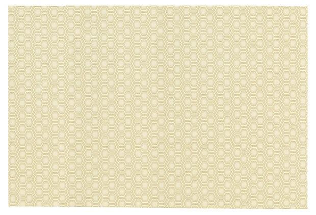 One Kings Lane - Designer Icon David Hicks - Hexagon House II Wool Rug, Oatmeal