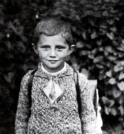 One of my favorite pictures of Pope Benedict XVI.