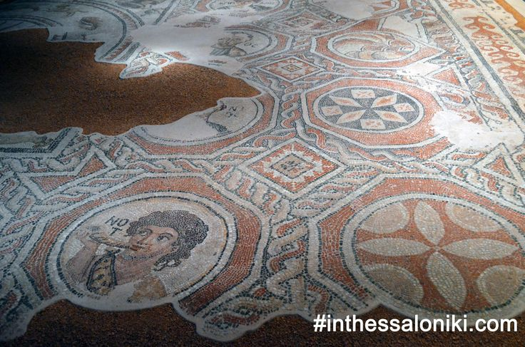 """● A beautiful mix of colorful mosaics and frescoes that were decorating churches and houses displaying religious and other popular themes await you in the museum.  Click on """"Visit Site"""" above for more!   ● Για την Ελληνική έκδοση ακολουθήστε τον σύνδεσμο: http://www.inthessaloniki.com/el/mouseio-byzantinou-politismou-thessalonikis    ● #thessaloniki #byzantine #museum #culture #travel #greece #mosaics #byzantino #mouseio"""