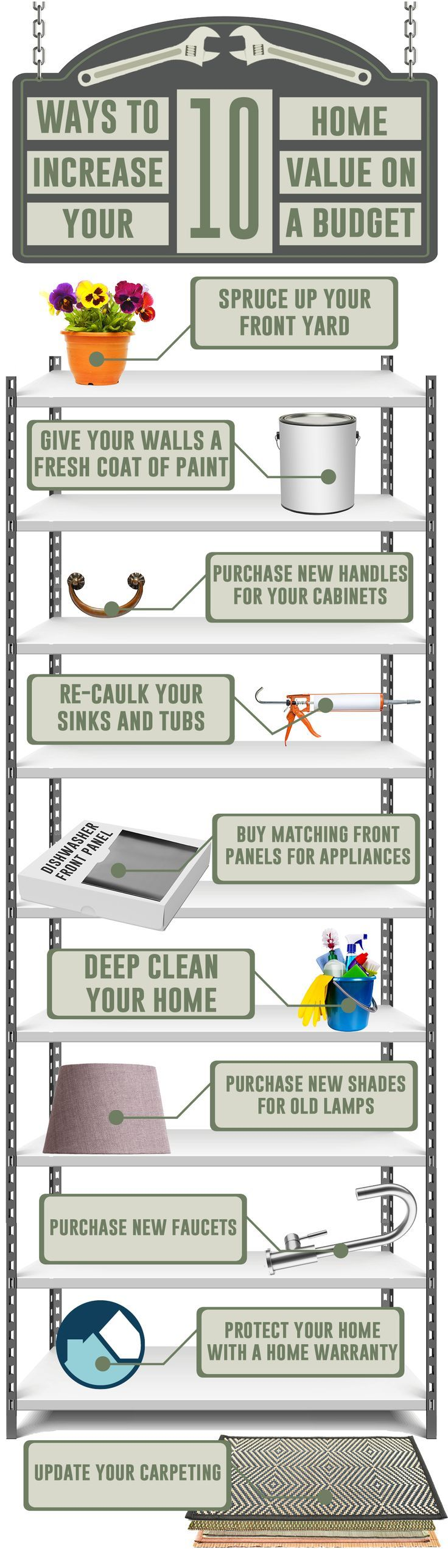 Pass along these tips to your home buyers - might mean a higher sale prices and commission for you.