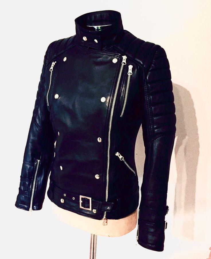 Leatherjacket MissCorleone @_misscorleone
