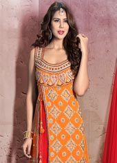 Buy Red Anarkali Salwar Kameez Online at Best Price: Indian Cloth Store
