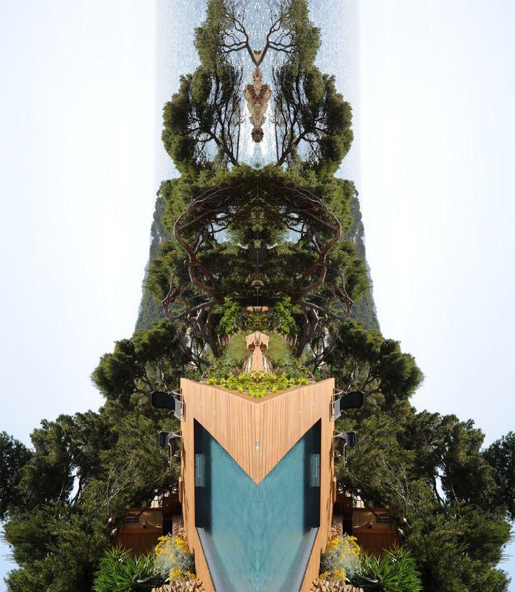 17 best images about piscine et art on pinterest for Piscine miroir