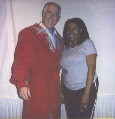 Tully Blanchard & yours truly!
