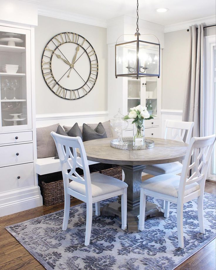 Painted Family Kitchen With Dining Nook: 25+ Best Ideas About Revere Pewter On Pinterest