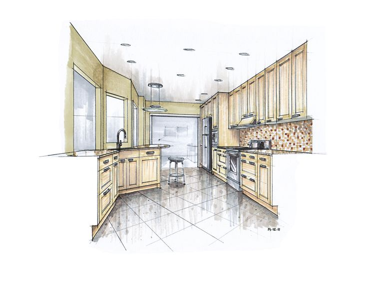 Posts About Hand Rendering On Mick Ricereto Interior Product Design
