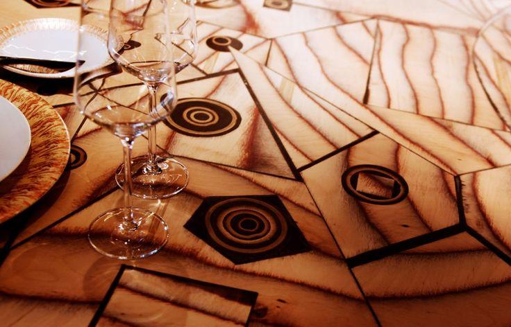 Cheval Blanc Hôtel Courchevel - La Table de Partage, salle à manger privée à Courchevel