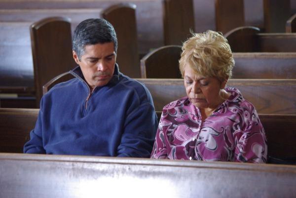 Esai Morales and Lupe Ontiveros in Los Americans. | Los ...