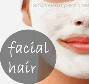 Facial hair Scrub: Make a scrub using 1tsp ground coffee, 1/2 tsp baking soda and little water make it into a paste and very gently exfoliate the skin in circular motion, keep it on for about 5 – 10 mins and rinse off, do it once a week. by goldie