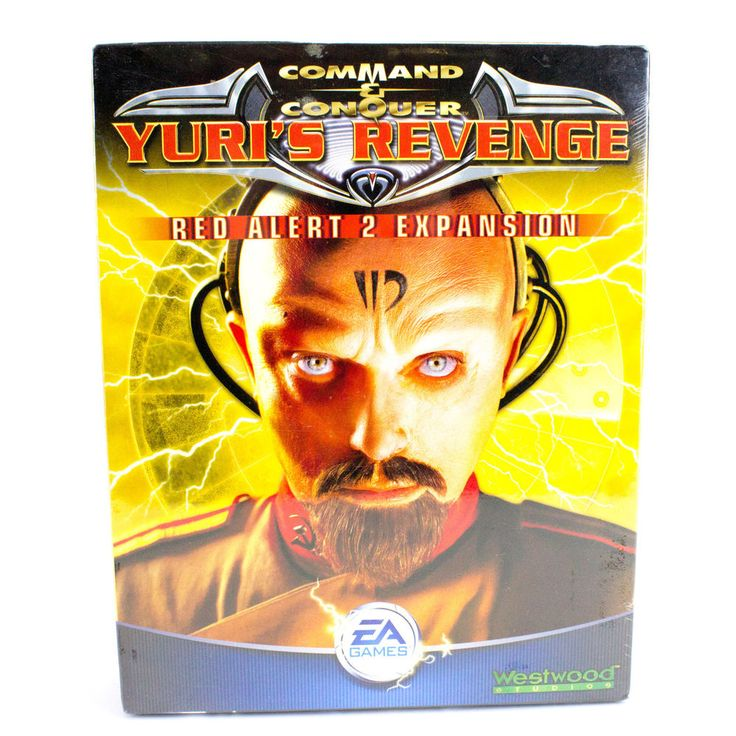 Command & Conquer Red Alert: Yuri s Revenge for PC CD-ROM, Big Box, Sealed