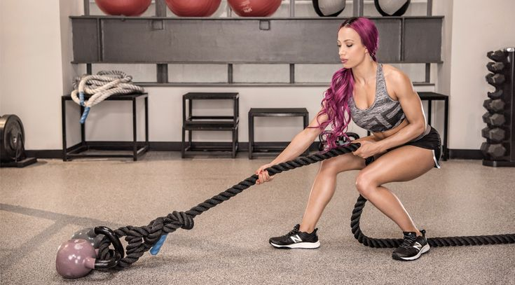 Take your fitness to the next level with this powerful workout demonstrated by WWE's Sasha Banks..