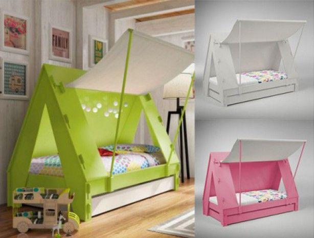 is het een tent? of is het een bed? Het is een tentbed! kinderbed is verkrijgbaar in verschillende kleuren. Bekijk ze online op ZOOK