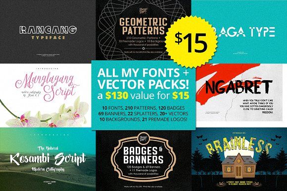 Cleaning Store Bundle 01 by ihsankl on @creativemarket