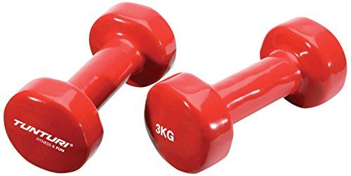 Tunturi Vinyl Dumbbells 3Kg (Pack of 2) on January 04 2017. Check details and Buy Online, through PaisaOne.