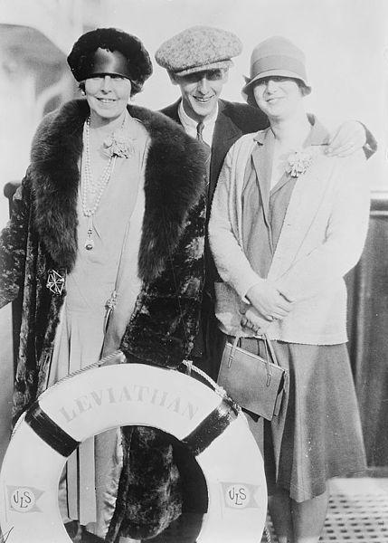 Queen Marie of Romania, Prince Nicholas, and Princess Ileana