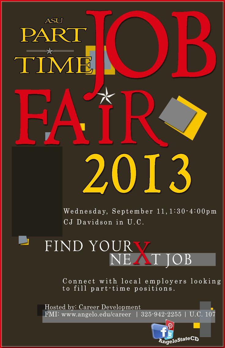 sample job fair flyers