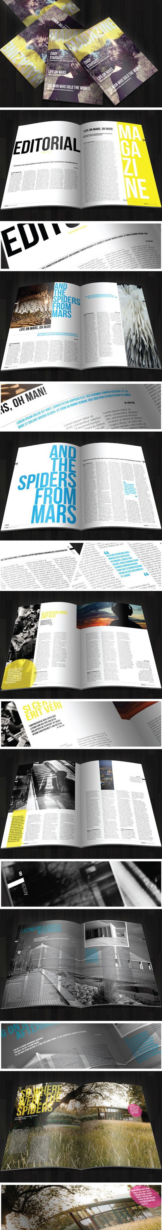 #magazine layout