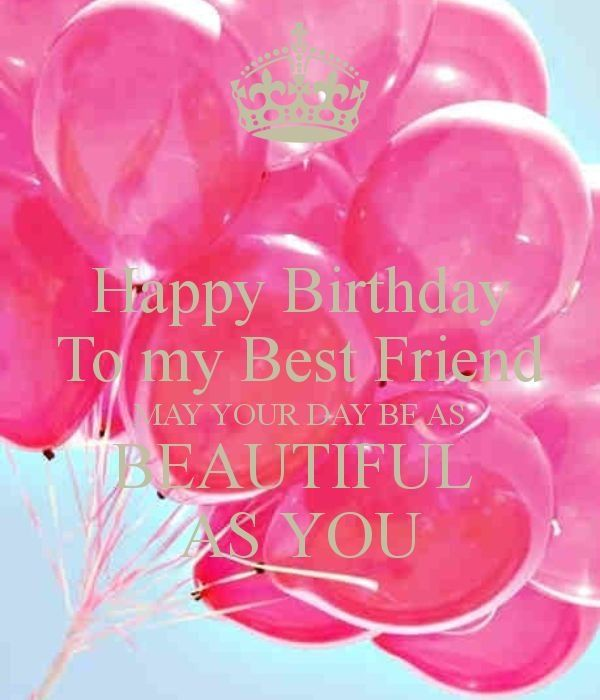 Best Birthday Wishes For Best Friend – Birthday Greeting, Sayings And Lines