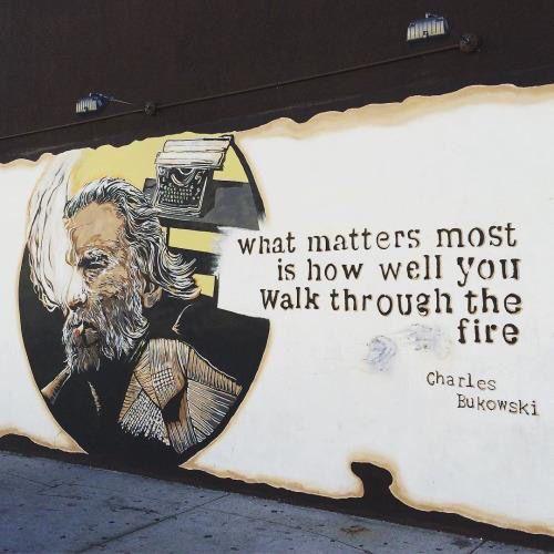 Bukowski- real life style