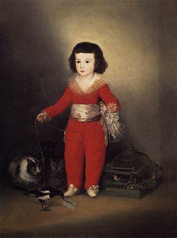 Manuel Osorio Manrique de Zuñiga, 1788, Francisco de Goya