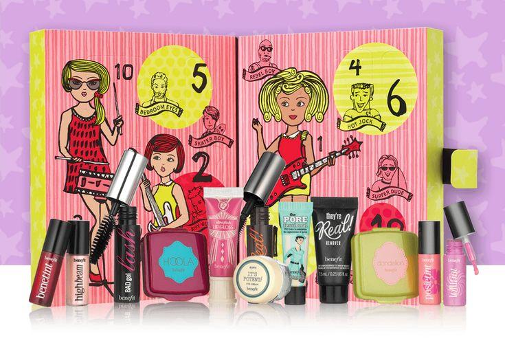 Calendriers de l'avent beauté 2016 #advent #adventcalendar #calendar #beauty #makeup #skincare #perfume #fragrance #benefit #christmas #xmas #colour #surprise #beautiful