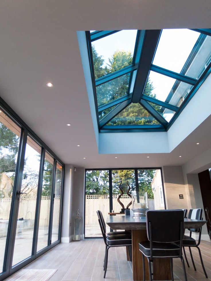 Internal View of Aluminium Roof Lanterns