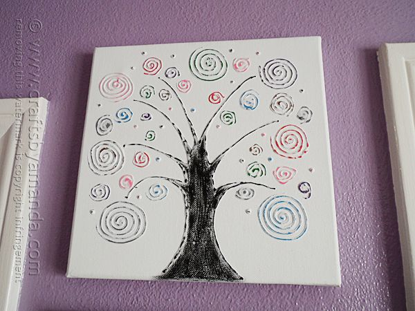 Tree art is big and canvas is pretty affordable, especially when you use an in-store coupon! I love making my own wall art. In fact, I don't think I've actually bought anything for my walls in years! For this project I decided to try creating a resist-look on canvas using three dimensional paint paints andRead More »