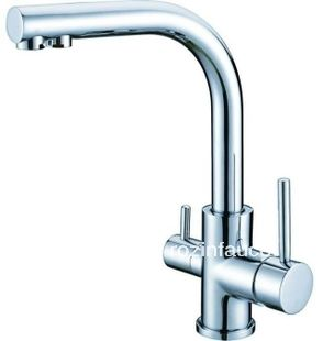 Chrome Finish Single Hole Kitchen Faucet Pure Water Filter 2 Handles Mixer Tap kitchen storage -- AliExpress Affiliate's Pin. Find similar products by clicking the VISIT button