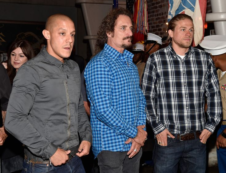 Theo Rossi Photos: 'Sons of Anarchy' Cast Hosts a Boot Bash