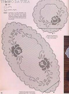 Croche maravilha de arte: caminho de mesa