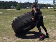 Derrick Henry isn't messing around in his summer workouts.