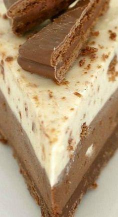 No-Bake Double Layer Tim Tam Cheesecake