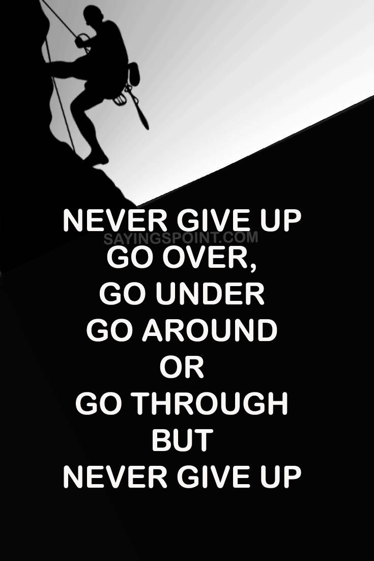 65 best Never Give up Quotes images on Pinterest ...