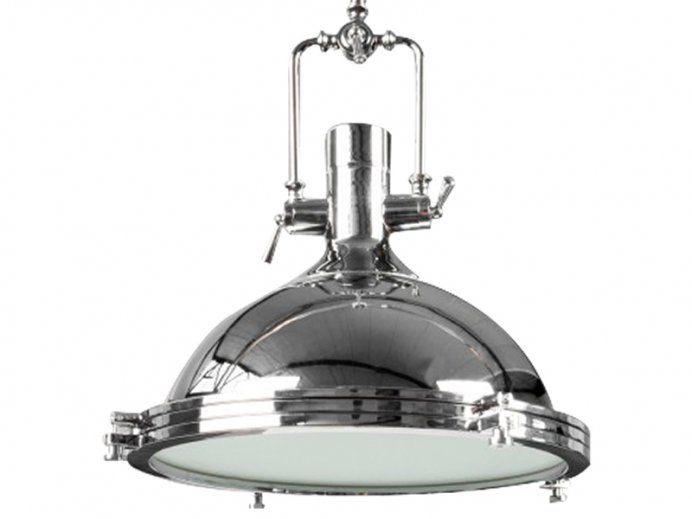 Lampa Wisząca Industrial III chromowa Invicta Interior