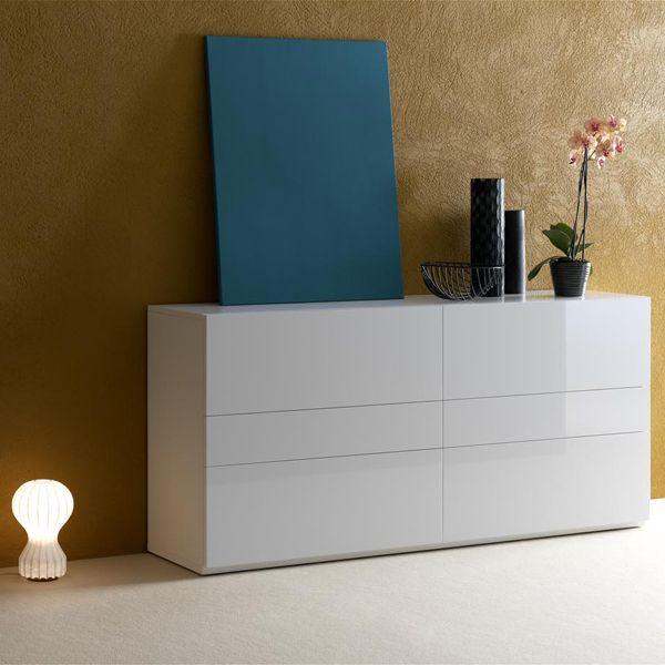 Las 25 mejores ideas sobre aparador blanco en pinterest - Aparador blanco brillo ...