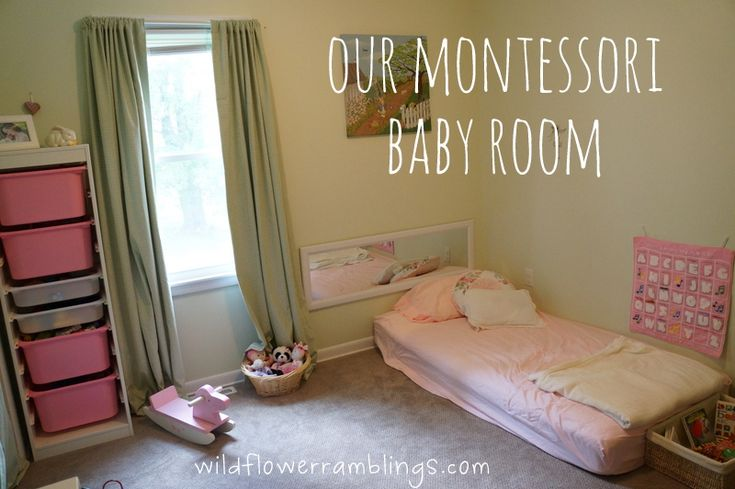Our Montessori Baby Room from Wildflower Ramblings