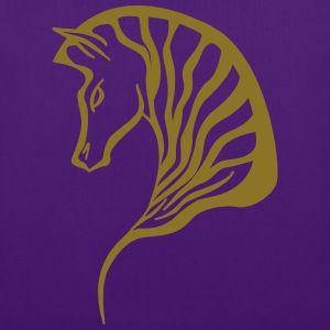 Bag Zebra - Kreativlaube - Gold metallic