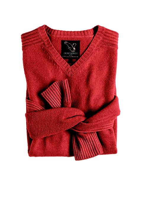 Dow Jones rust plain knitwear