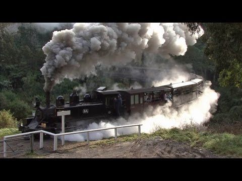 Steam Trains in the Hills - Puffing Billy Railway