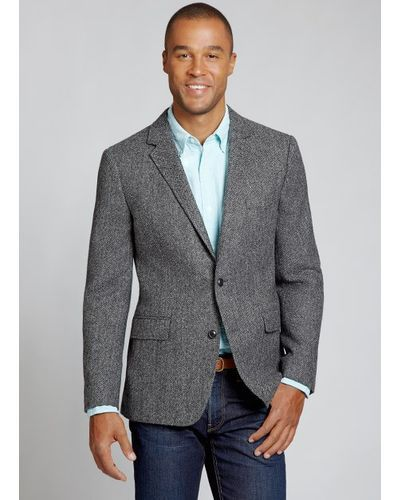0be876b19a Bonobos | Gray The Nottingham Blazer Grey Herringbone for Men | Lyst